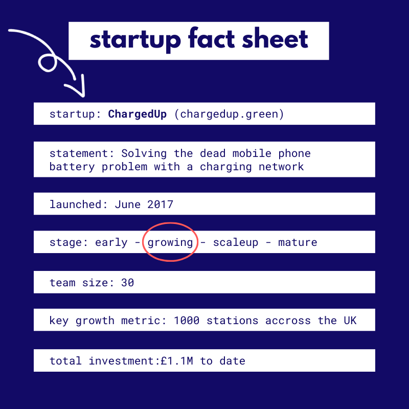 ChargedUp Fact sheet