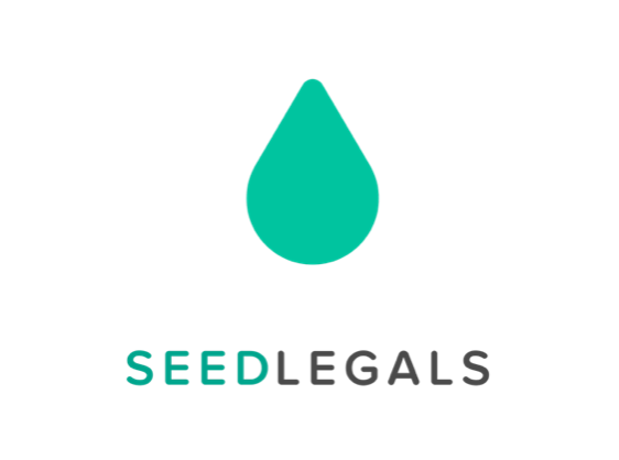 Seedlegals logo startups of london version