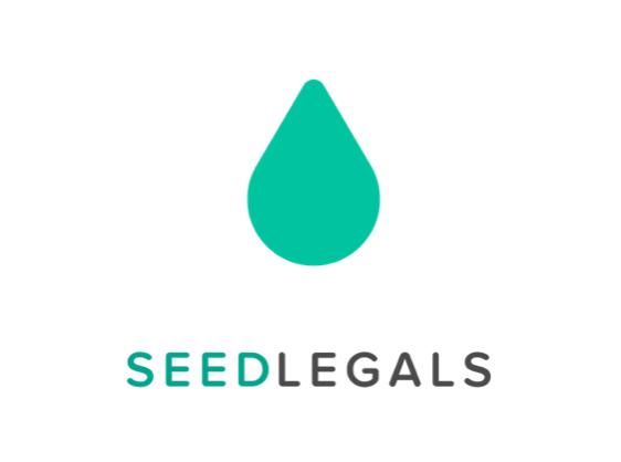 Seedlegals logo startups of london version