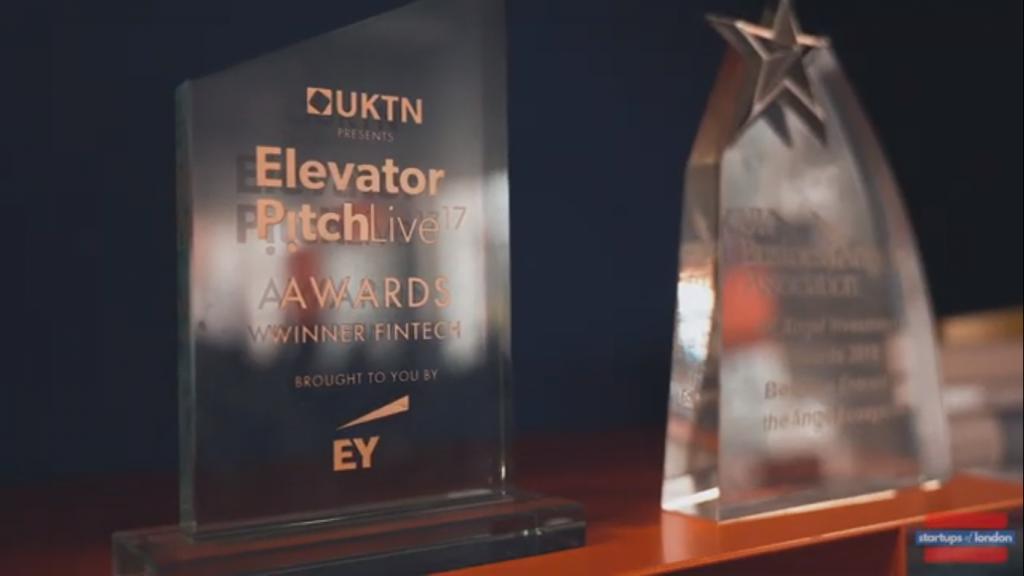 Seedlegals elevator pitch live 2017 awards winner fintech