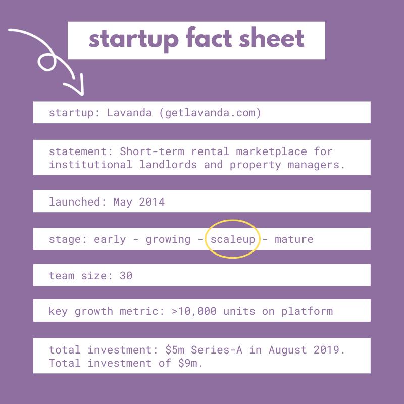 lavanda fact sheet